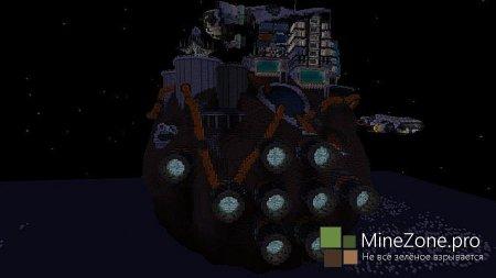 [Карта] Космос в MineCraft?! Ну вы поняли! :D