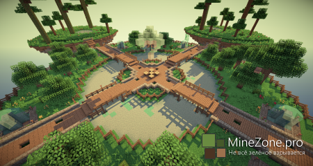 Floating Islands - PvP map