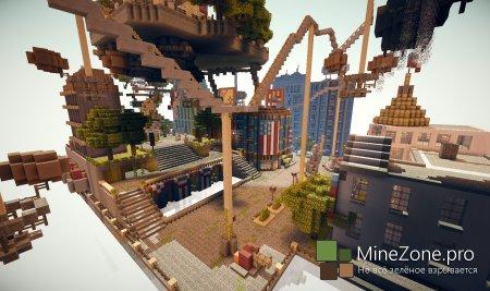[Карта]Город из игры Bioshock Infinite