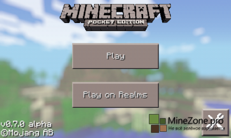 Minecraft Pocket Edition 0.7.0 Alpha [Android] [iOS]