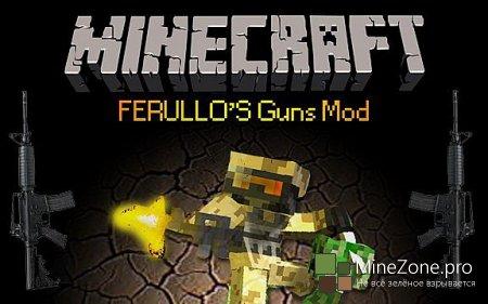 [1.5.2] [SMP] Ferullo's Guns Mod v2.8.0