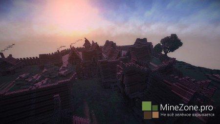 Medieval Hill Village