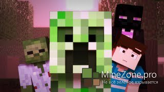 Creeper Encounter-  A Minecraft Animation