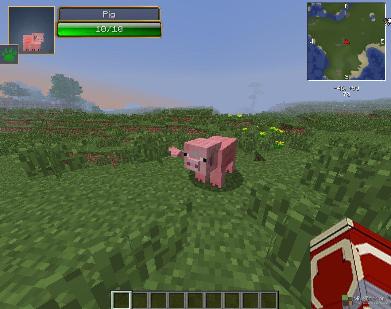 Мод на индикатор жизней и урона для Minecraft 1.6.1/1.5.2