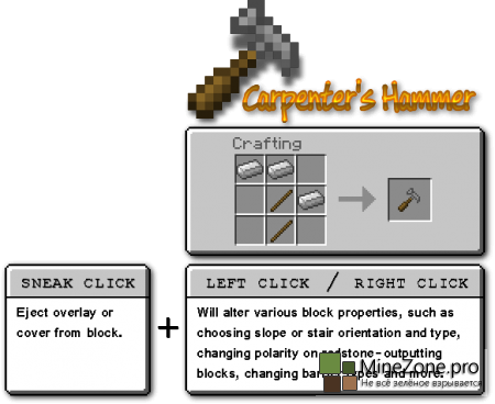 [1.6.4][SSP/SMP] Carpenters Blocks