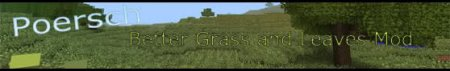 [1.6.4][Forge] Better Grass and leaves