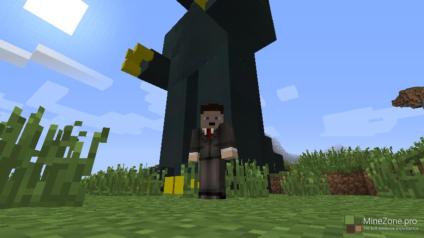 как установить мод годзиллу на minecraft #10