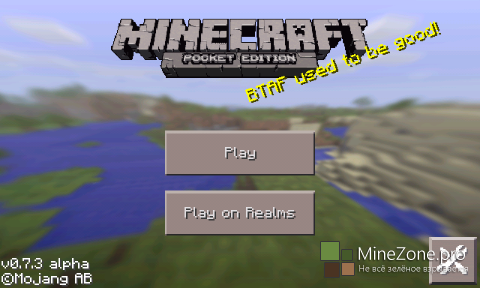 [Android] Minecraft  P.E. 0.7.3