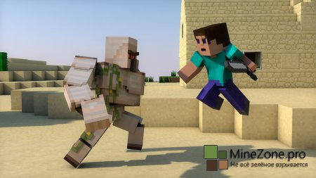 Golem's Farcry (Minecraft Fight Animation)
