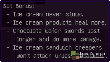 [1.6.2][FORGE] THE ICE CREAM SANDWICH CREEPER MOD V1.0.9C