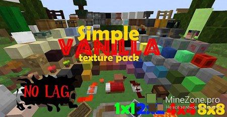 [1.6.2] [1x, 2x, 4x, 8x] Simple Vanilla