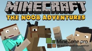 Minecraft: The N00b Adventures Part 18: The Equine Enigma
