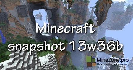 Minecraft snapshot 13w36b
