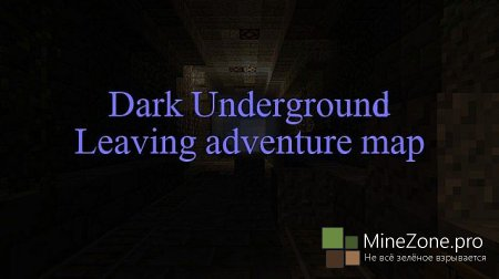 Dark Underground Horror map