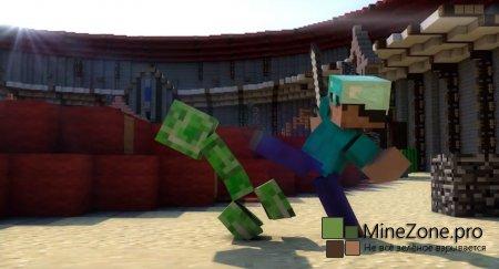 Mob Arena (Minecraft Animation)