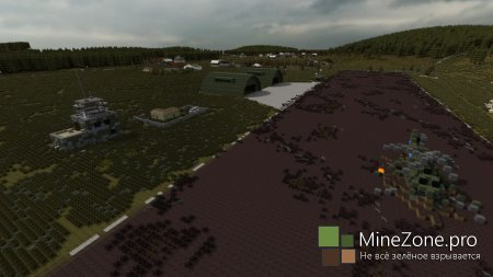 #5 Minecraft DayZ# Красностав и Ольша