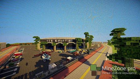 GTA in Minecraft -  Grand Theft Minecart