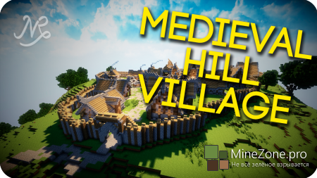 Minecraft Cinematic - Episode 2: Medieval Hill Village