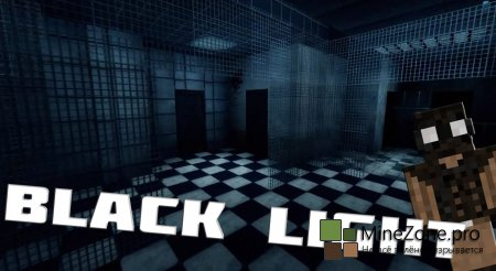 Прохождение Black Light Horror map