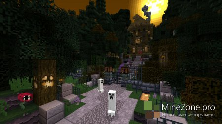 Halloween в Minecraft на Xbox360