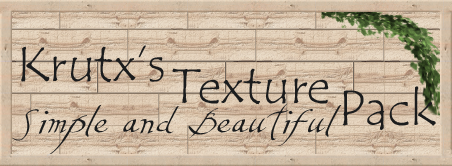 [1.7.+] [128x] [Bump mapping] Krutx's Texture Pack