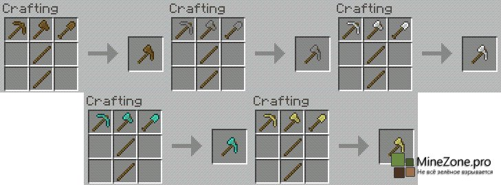 Как сделать minecraft рычаг