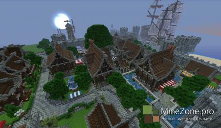 Карта Нордская деревня