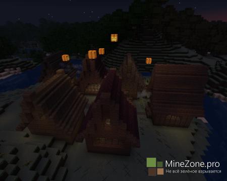 Minecraft: Halloween Hogwarts