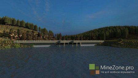 """#7 Minecraft DayZ# Дамба """"Победа"""" и """"Чертов"""" замок"""