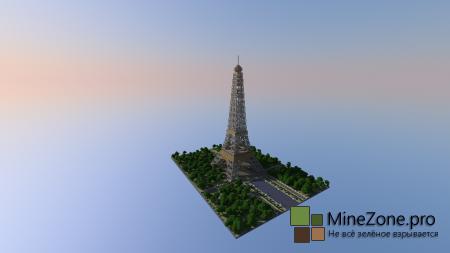 Europe Mnecraft #2: Eiffel Tower