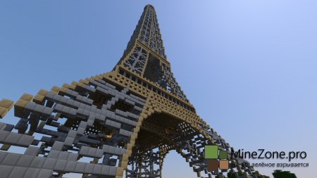Europe Mnecraft #2: Eiffel Tower