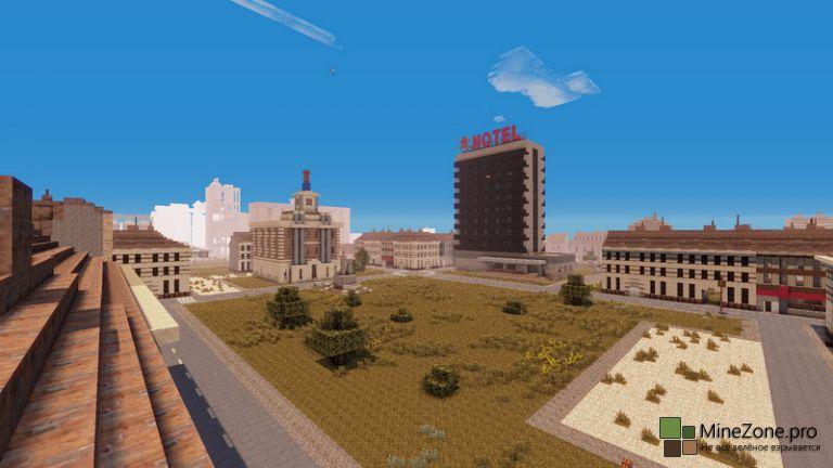 #8 Minecraft DayZ# Черногорск - столица Чернорусии