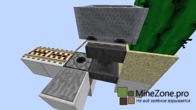 Minecraft механизмы: Автоматическое депо игроков