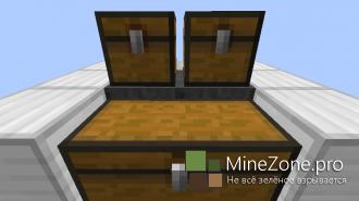 Minecraft механизмы: Автоматическая печка