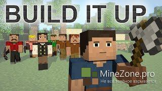 Build It Up - A Minecraft Parody of Avicii's Wake Me Up