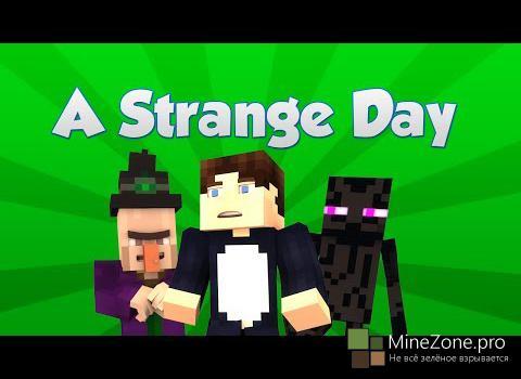A Strange Day (Minecraft Machinima)