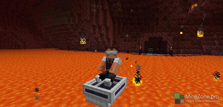 [1.7.2] [Forge] LavaBoat Mod