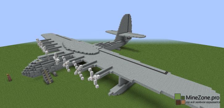 """[Карта] Hughes H-4 """"Hercules"""" (""""The Spruce Goose"""") (Еловый Гусь)"""