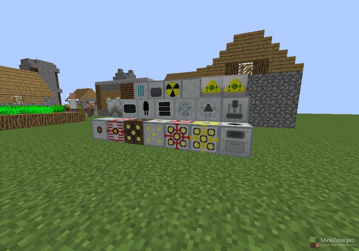 Hi-tech дом на горе [1. 8. 9] / бездна / minecraft inside.