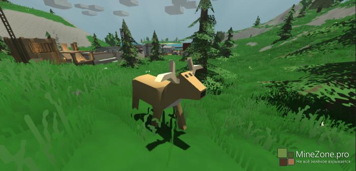 Unturned - нашумевший клон игры Minecraft??