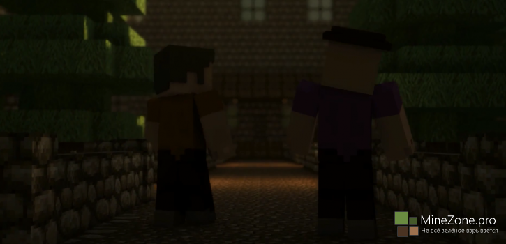 Legend of Herobrine 2: Haunted Mansion (Minecraft Animation Short)