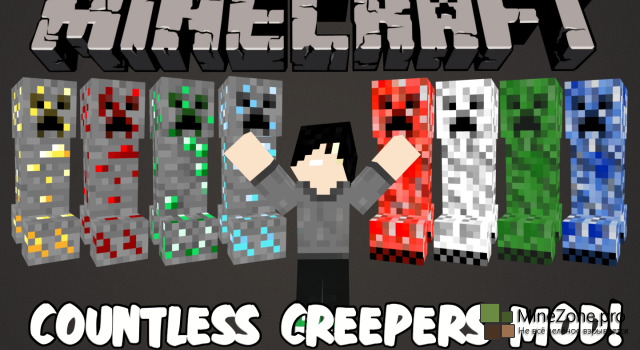 [1.7.2] Countless Creepers