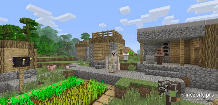 Minecraft: Xbox One Edition выпущен!