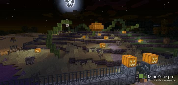 Хэллоуин приходит на консольные версии Minecraft