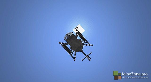 [1.8.*] Радиоуправляемый вертолёт на командном блоке!