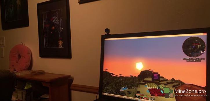 Система освещения комнаты и Minecraft