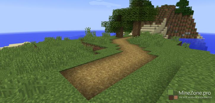Блок дороги появится в Minecraft