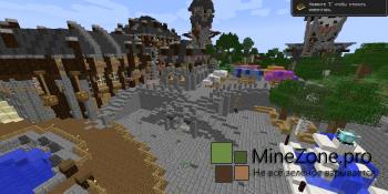 Средневековая деревня карта