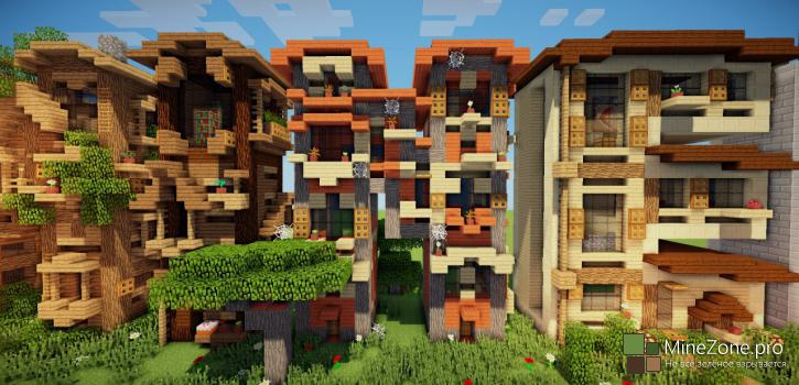 [Map] MINECRAFT frame houses