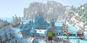 [1.7.2+] Arendelle - замок среди гор